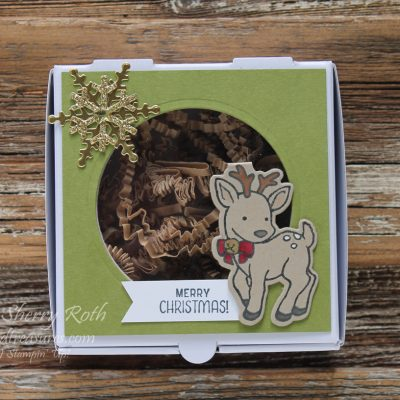 Less than a month left until Christmas – ideas using the Seasonal Chums stamp set