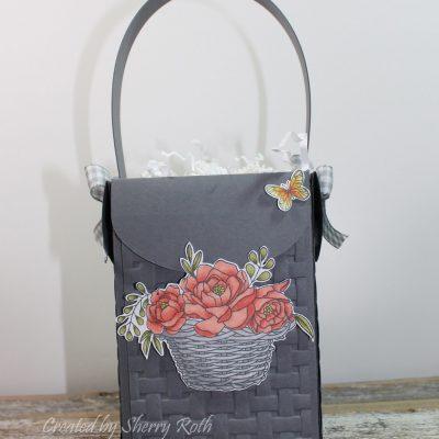 Easter Basket using the Blossoming Basket Bundle