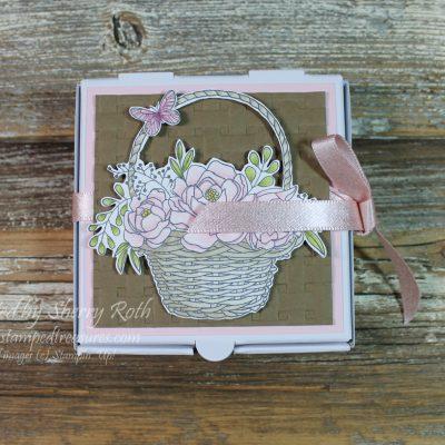 Gift Card Holder using the Blossoming Basket Bundle