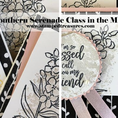 Southern Serenade Class in the Mail
