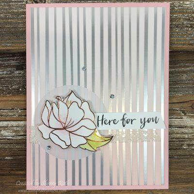 Here for You Springtime Foils Card