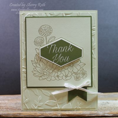 Stampin' Up!'s Accented Blooms – Thank You