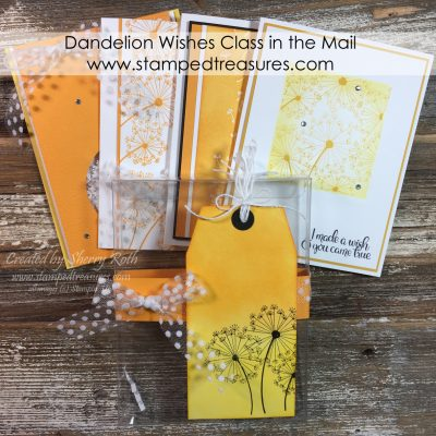 Dandelion Wishes Class in the Mail