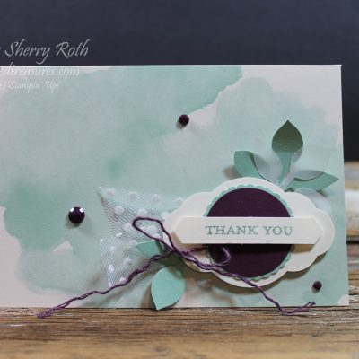 Delightfully Detailed Thank You Card