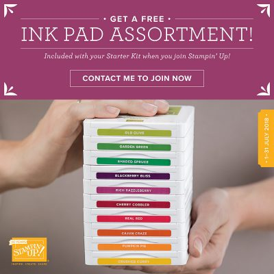 A free set of ink pads! Say what?!