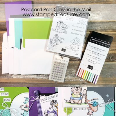 Postcard Pals Class in the Mail