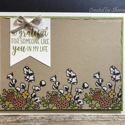 Country Home Grateful for You Card