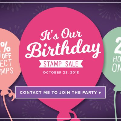 It's Stampin' Up!'s Birthday – Save 15% Today Only