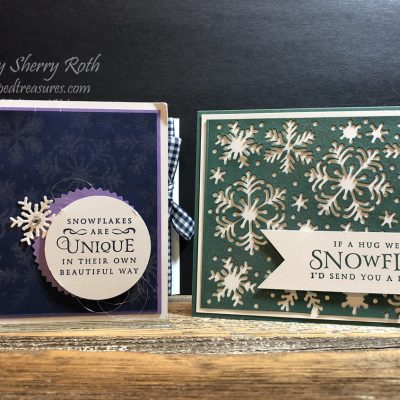 Stampin' Up!'s Beautiful Blizzard Bundle with some Shimmer!