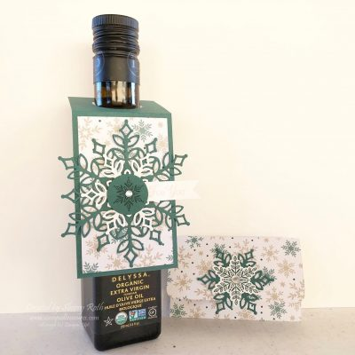 Snow is Glistening Gift Card Holder and Wine Tag