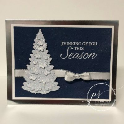 Winter Woods Holiday Card Tutorial