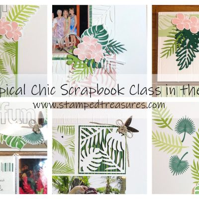 Tropical Chic Scrapbook Class in the Mail