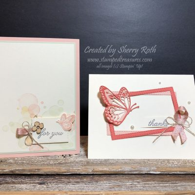 It's All About the Butterflies with the Beauty Abounds Bundle from Stampin' Up!
