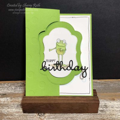 So Hoppy Together Flip Fold Birthday Card