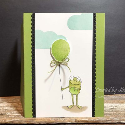 So Hoppy Together Birthday Card with a Surprise Inside
