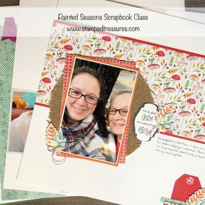 Painted Seasons Scrapbook Class