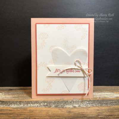 Let's Get Together Card using Stampin' Up!'s Love You to Pieces