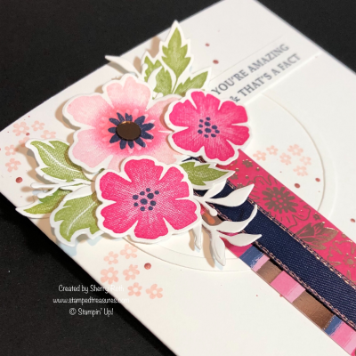 Mother's Day Card using Stampin' Up!'s Everything is Rosy Medley