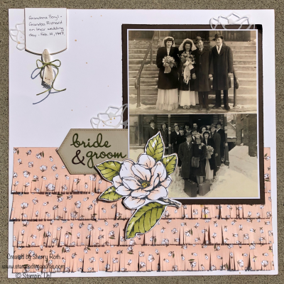 31 Scrapbooking Tips and a Wedding Layout