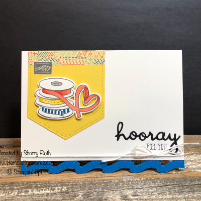 Hooray for You – It Starts with Art Card Tutorial