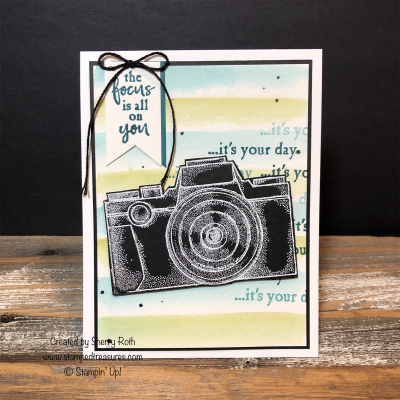 Capture the Good Father's Day Card