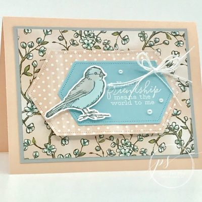 Free As A Bird Friendship Card