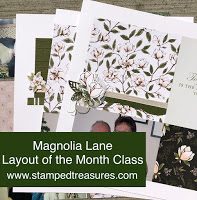 Magnolia Lane Scrapbook Tutorial