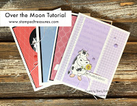 Over the Moon Card Tutorial