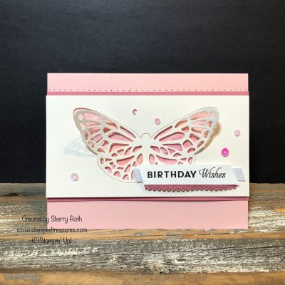 Butterfly Wishes Birthday Card