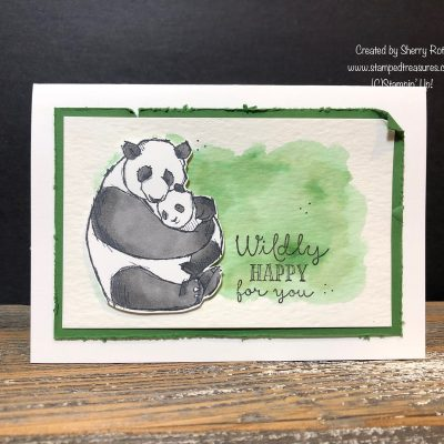 Wildly Happy Panda Card