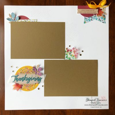 Start with a Theme – Scrapbook Tip #13