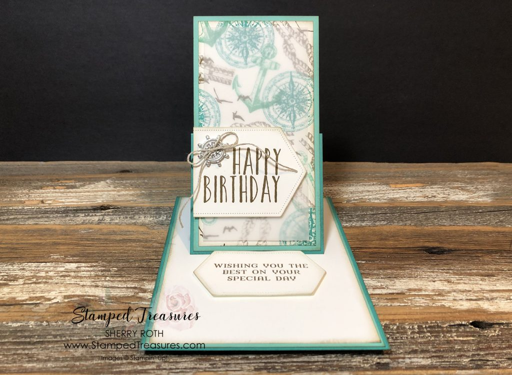 Fun Fold Easel Card