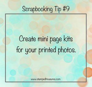 Mini Page Kits