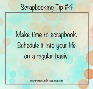 Scrapbook Tip #4