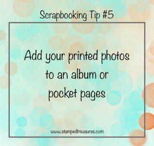 Scrapbooking Tip #5