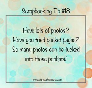 Scrapbooking Lots of Photos
