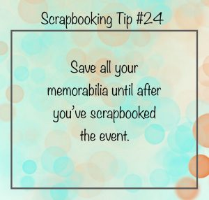 Save Your Memorabilia