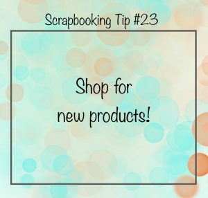 Scrapbooking Tip 23