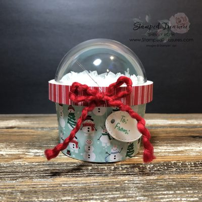 Snow Globe Sweet Cup