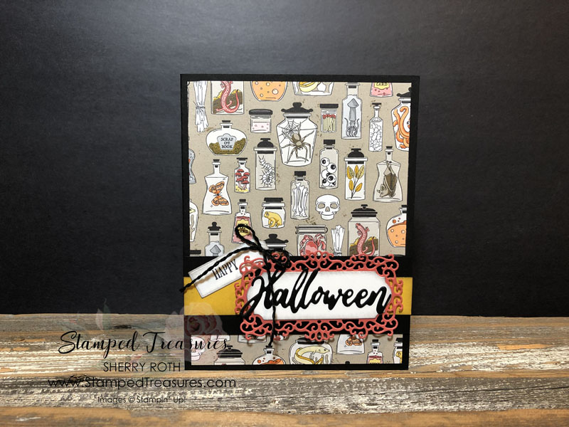 Monster Bash Halloween Card