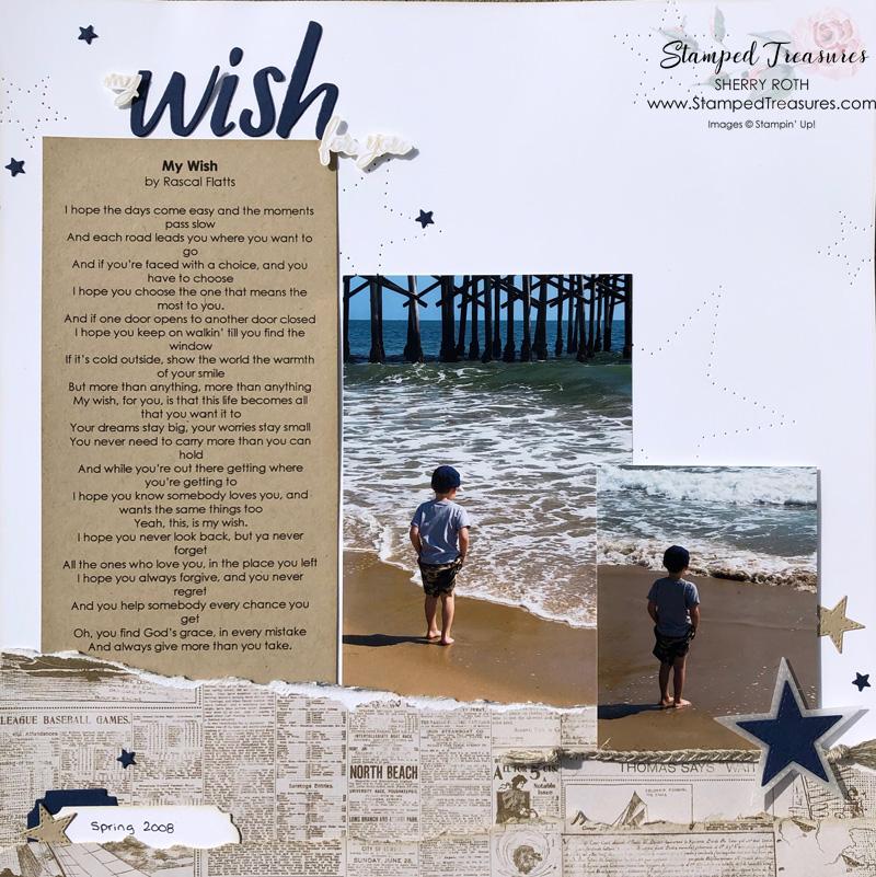 My Wish Layout