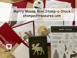 Merry Moose Mini Stamp-a-Stack