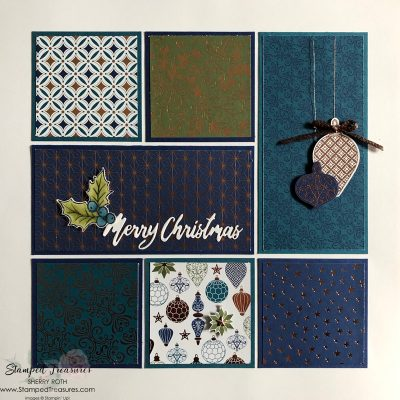 Brightly Gleaming Sampler