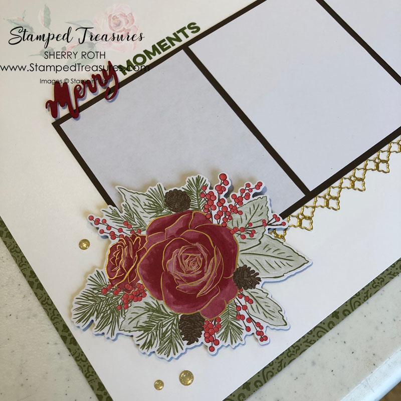 Christmastime is Here Layout