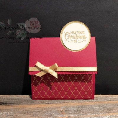 Fun Fold Christmas Gift Card Holder