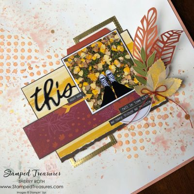 Fall Mixed Media Layout
