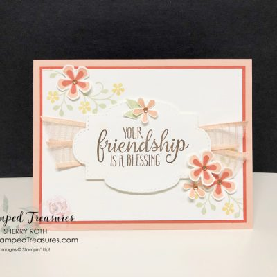 Friendship Card using So Sentimental Bundle