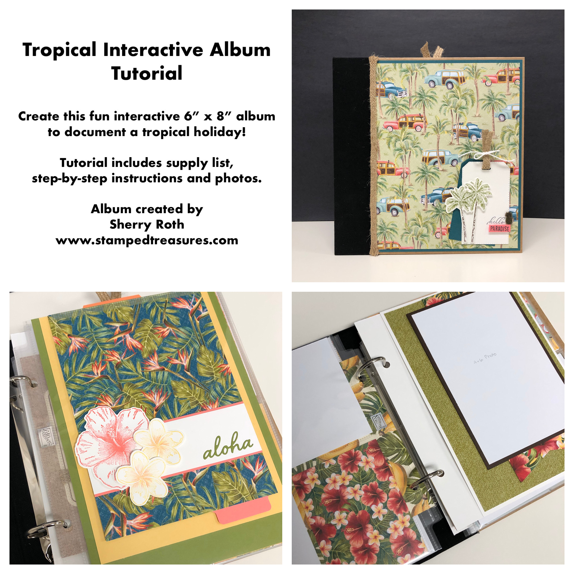 Tropical Interactive Album