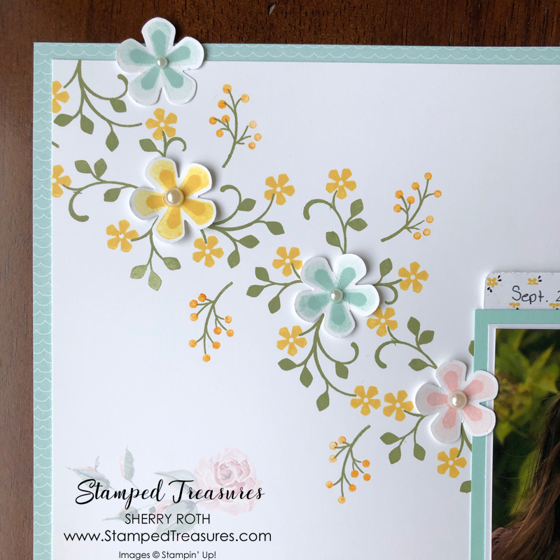 Thoughtful Blooms Layout