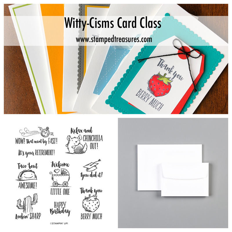 Witty-Cisms Card Class To Go